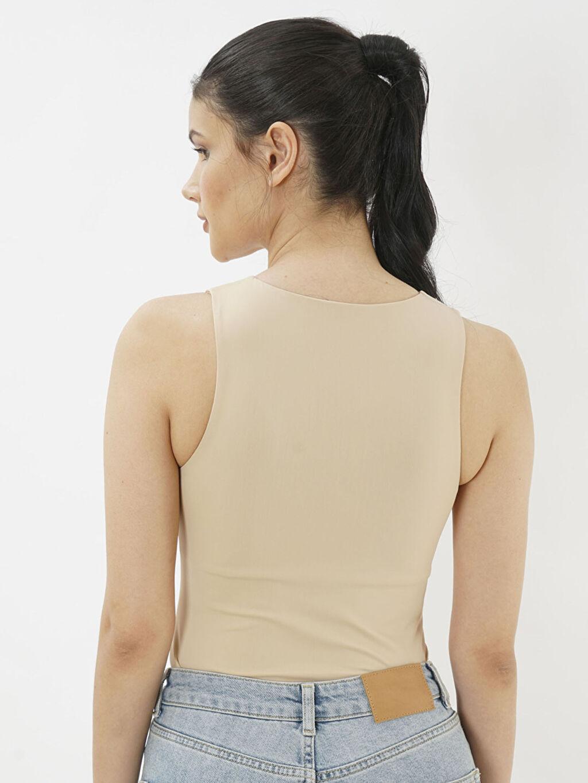 Kadın Eoselio Halter Yaka Bodysuit