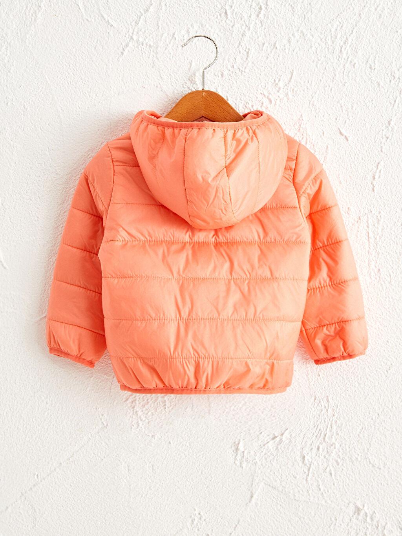 %100 Poliamid %100 Polyester Kapüşonlu Uzun Kol Düz Kapüşon Yaka Mont Dokuma Astar Kısa Polar İnce Kız Bebek Kapüşonlu Fermuarlı Mont