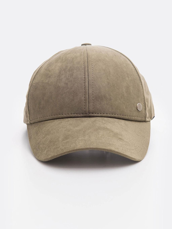 %100 Polyester Şapka Süet Kep Süet Şapka