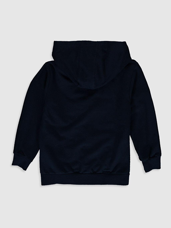 %80 Pamuk %20 Polyester Spor Hırka İnce Sweatshirt Kumaşı Kapüşonlu Uzun Kol Nakışlı Erkek Çocuk Fermuarlı Kapüşonlu Sweatshirt