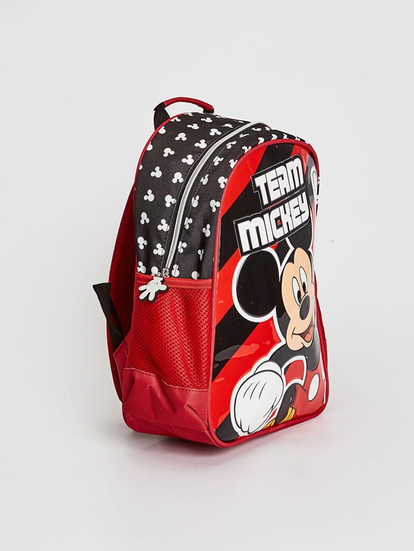 %100 Polyester %100 Polyester Çanta Sırt Çantası Mickey Mouse Erkek Çocuk Mickey Mouse Lisanslı Sırt Çantası