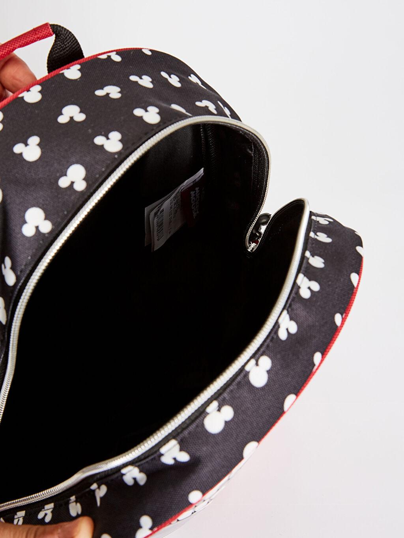 %100 Polyester Erkek Çocuk Mickey Mouse Lisanslı Sırt Çantası