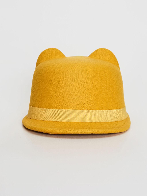 %100 Polyester Şapka Biker Kız Çocuk Kulaklı Şapka