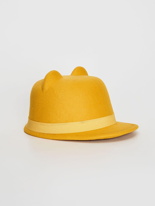 Bej Kız Çocuk Kulaklı Şapka 0W4836Z4 LC Waikiki
