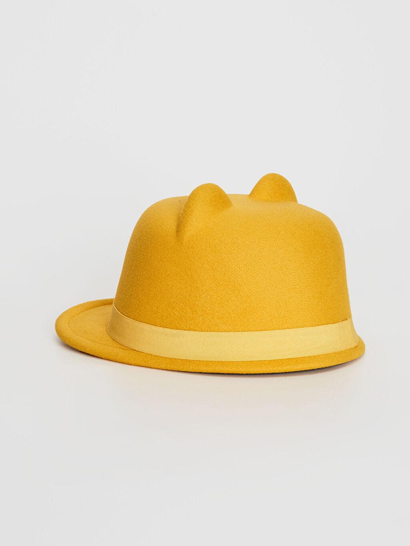 Kız Çocuk Kız Çocuk Kulaklı Şapka
