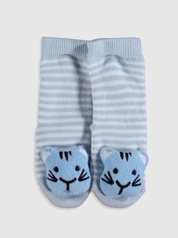 Mavi Erkek Bebek Soket Çorap 0W7888Z1 LC Waikiki