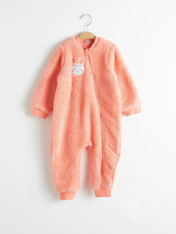 Mercan Kız Bebek Uyku Tulumu (0-12 Ay Arasi Patikli) 0W7898Z1 LC Waikiki