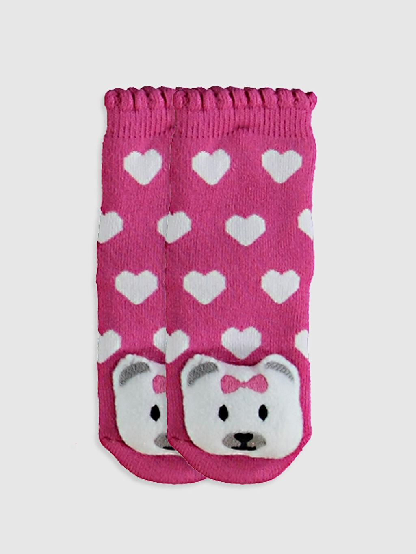 Pembe Kız Bebek Soket Çorap 0W7905Z1 LC Waikiki