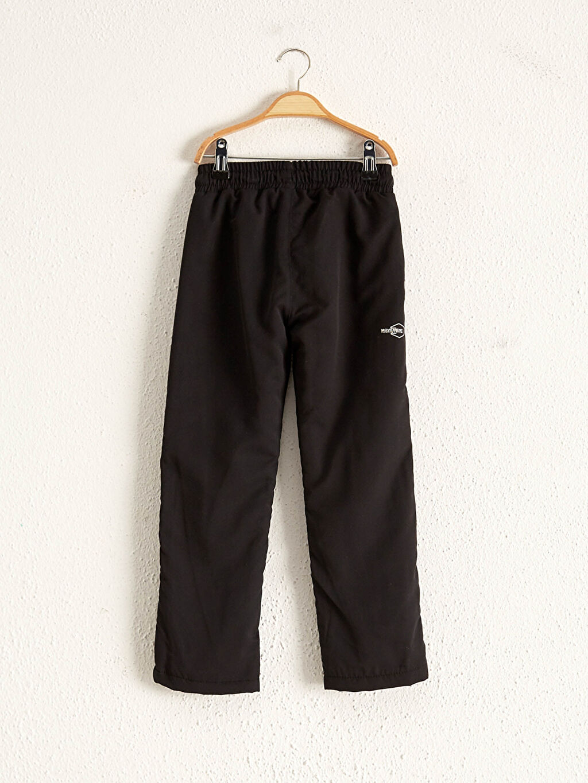 %100 Polyester %100 Polyester Aksesuarsız Mikrofiber Rahat Kalıp Pantolon Polar Astar Erkek Çocuk Astarlı Pantolon