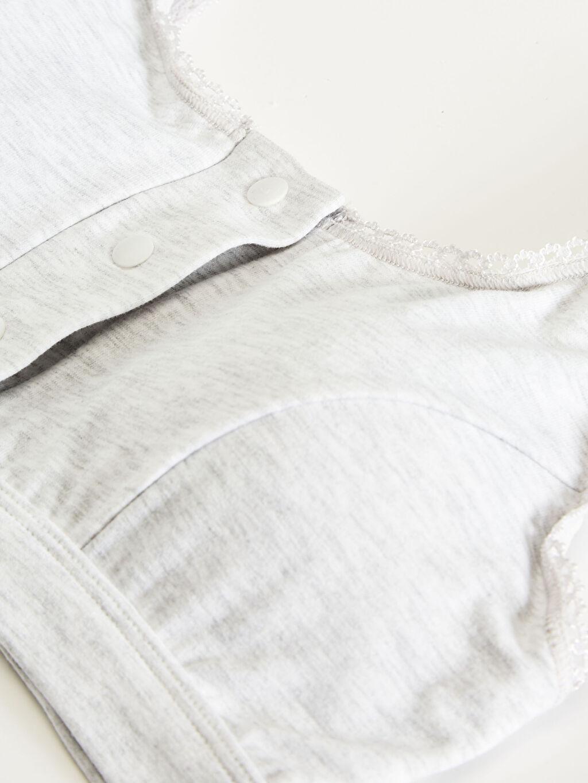 %45 Pamuk %50 Polyester %5 Elastan Balensiz Hamile Sütyeni