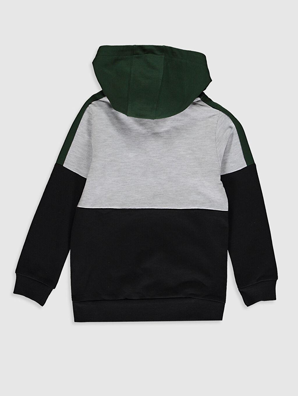%67 Pamuk %33 Polyester İnce Sweatshirt Kumaşı Sweatshirt Kapüşonlu Erkek Çocuk Kapüşonlu Sweatshirt