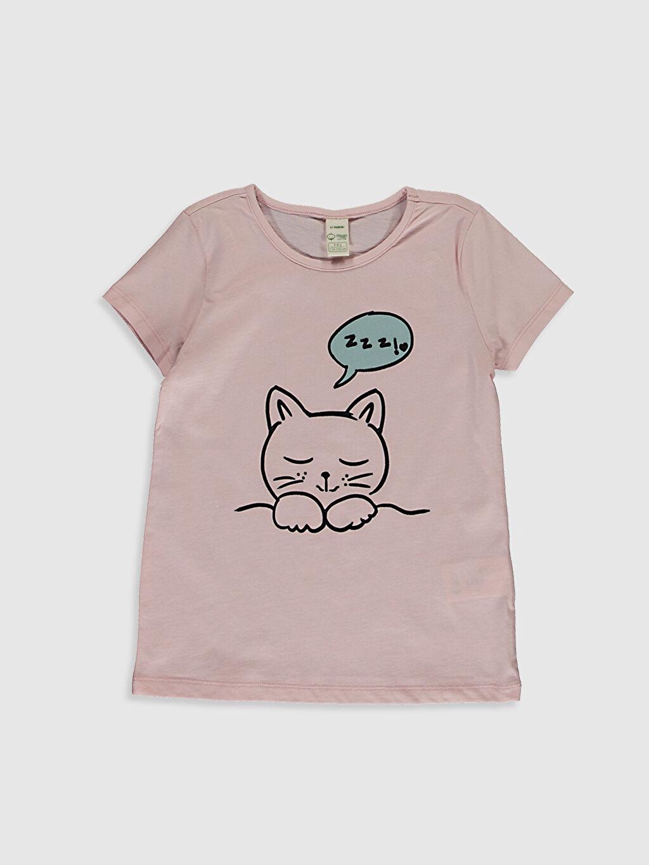Kız Çocuk Kız Çocuk Organik Pamuklu Pijama Takımı