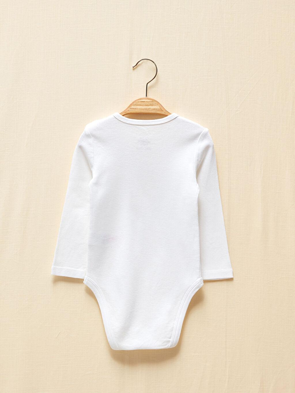 LC Waikiki Beyaz Kız Bebek Çıtçıtlı Body 2'Li