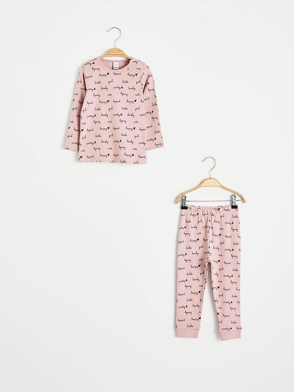 Pembe Kız Bebek Pijama Takımı 2'Li 0WH242Z1 LC Waikiki