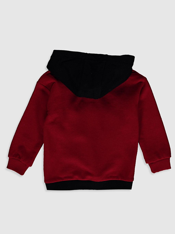 %67 Pamuk %33 Polyester Uzun Kol Düz Kapüşon Yaka Kalın Sweatshirt Kumaşı Sweatshirt Erkek Çocuk Kapüşonlu Sweatshirt