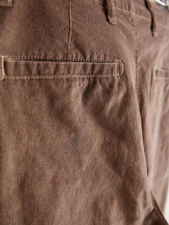 %82 Pamuk %16 Polyester %2 Elastan Slim Fit Gabardin Pantolon