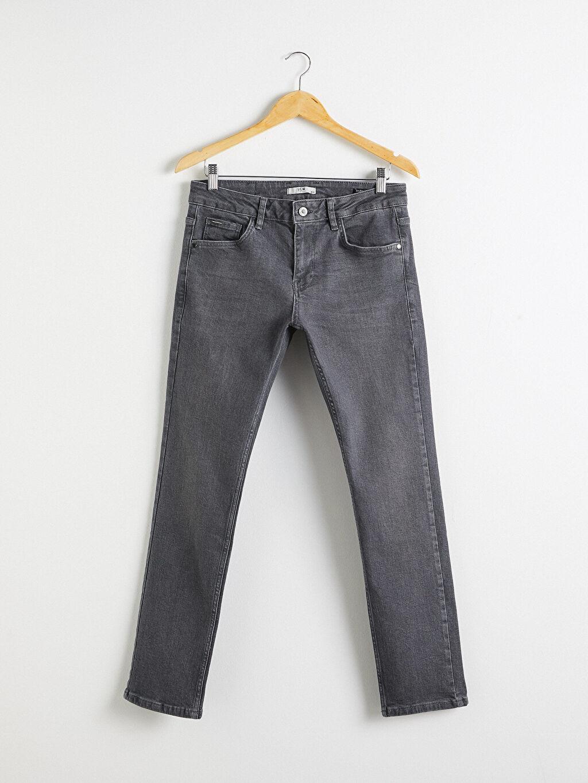 Gri 750 Slim Fit Jean Pantolon 0WBB30Z8 LC Waikiki