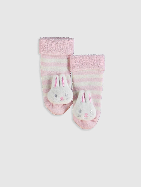 Beyaz Kız Bebek Soket Çorap 0WBJ81Z1 LC Waikiki