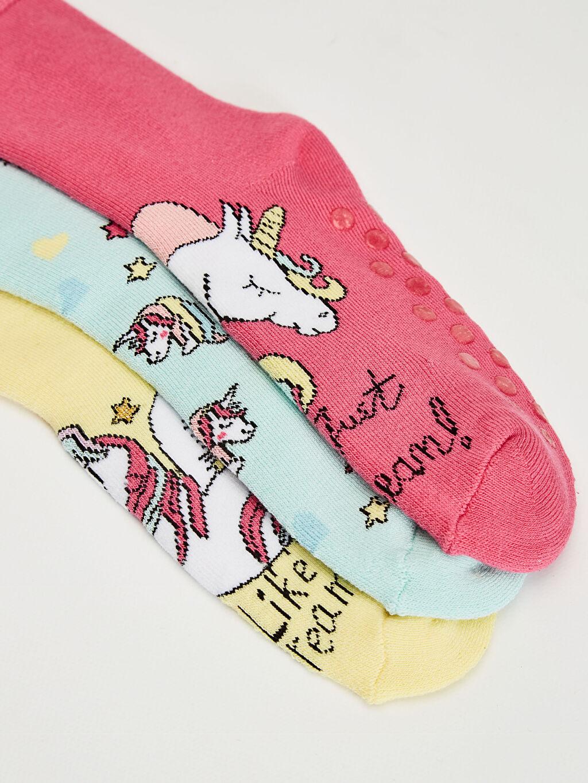 Kız Çocuk Kız Çocuk Soket Çorap 3'Lü