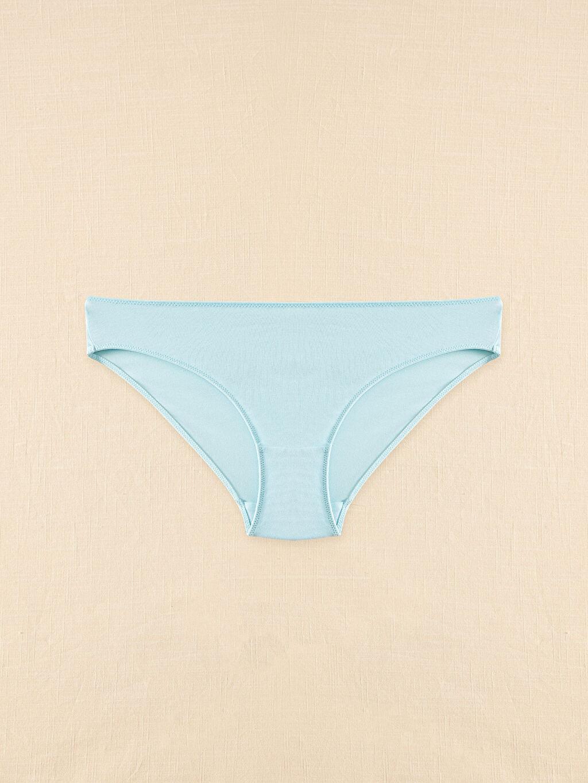 %95 Pamuk %5 Elastan Bikini Külot Yüksek Pamuk İçerir Organik Pamuklu Klasik Külot 2'Li