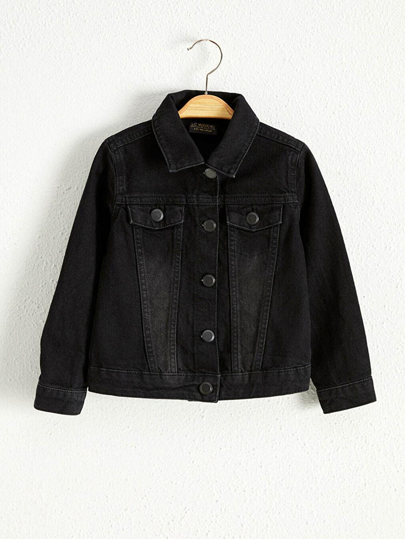 0WBO57Z4 Kız Çocuk Jean Ceket