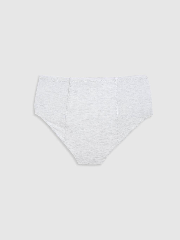 %46 Pamuk %50 Polyester %4 Elastan %100 Polyester Külot Klasik Külot Düz Penye Yüksek Bel Külot