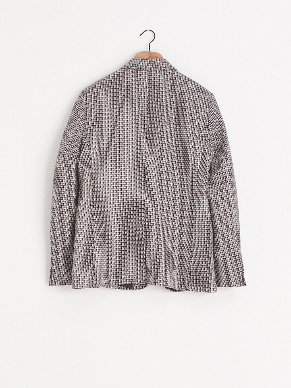 %100 Polyester Dar Uzun Kol Ceket İnce Ceket Yaka Dar Kalıp Blazer Ceket