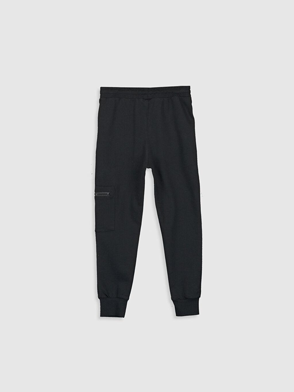 %80 Pamuk %20 Polyester Orta Kalınlık Eşofman Altı Düz İnce Sweatshirt Kumaşı Erkek Çocuk Jogger Eşofman Altı