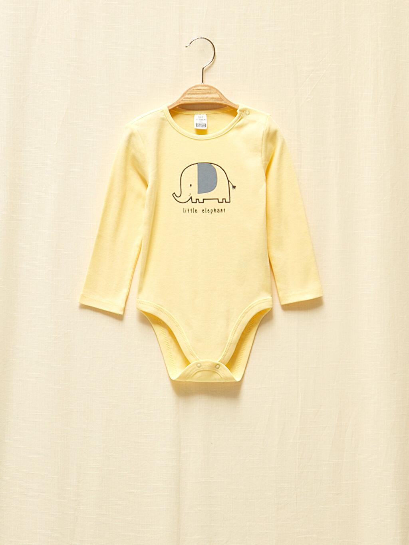 Kız Bebek Kız Bebek Organik Pamuklu Çıtçıtlı Body 2'Li