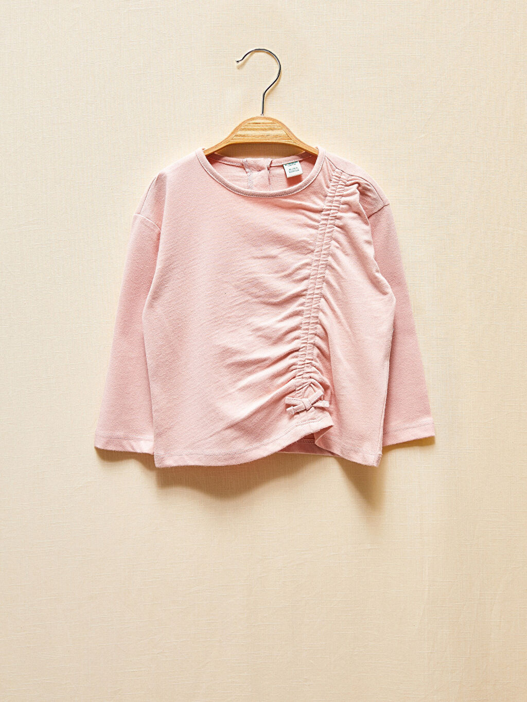 %100 Pamuk Kız Bebek Organik Tişört