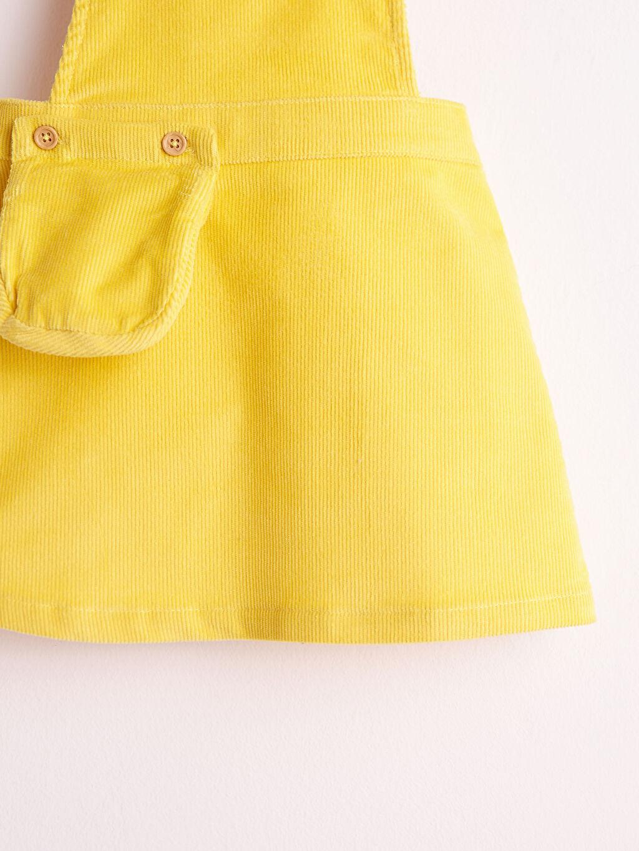 Kız Bebek Kız Bebek Kadife Elbise