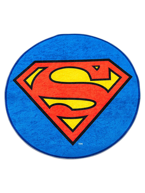 %100 Polyester Halı Baskılı Superman Superman Baskılı Halı