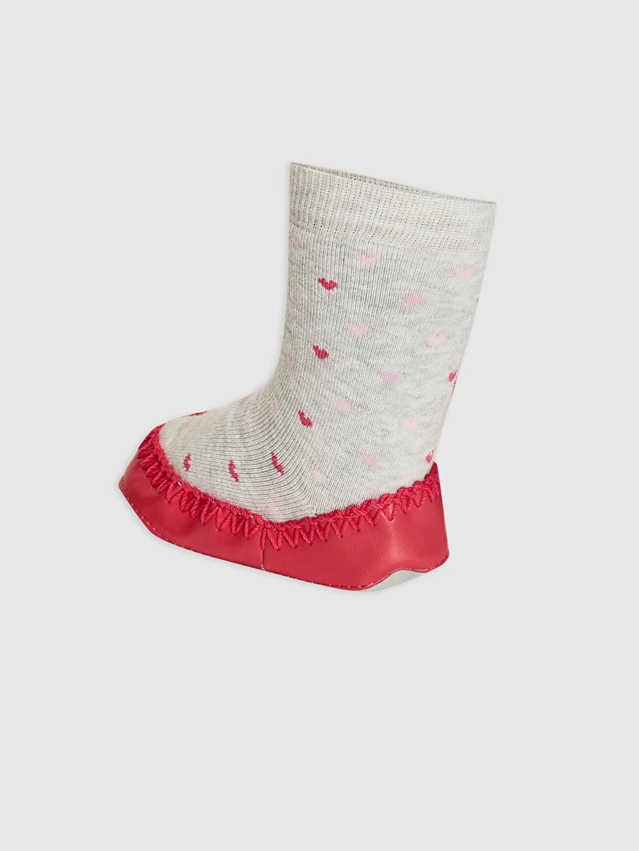 Kız Bebek Kız Bebek Ev Çorabı