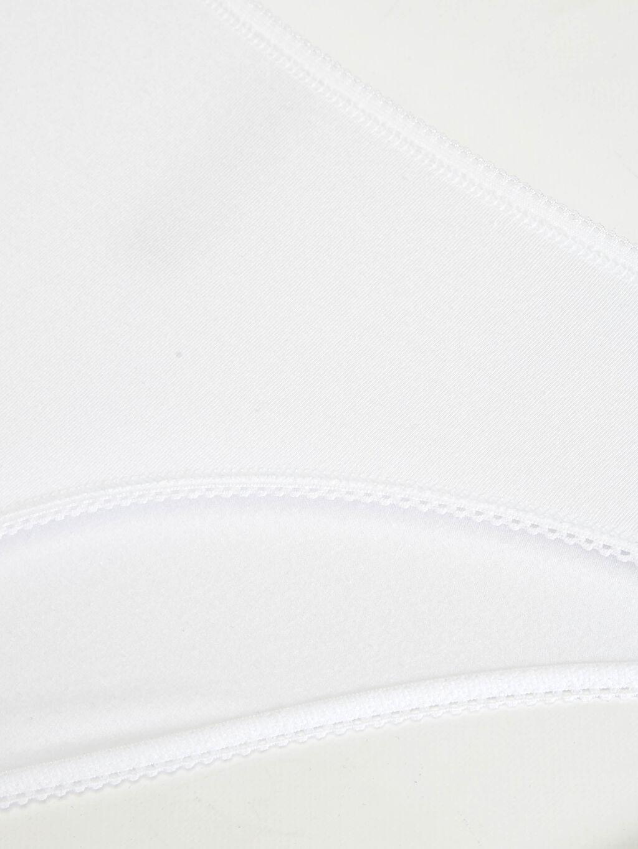 LC Waikiki Beyaz Baskılı Klasik Külot 3'Lü