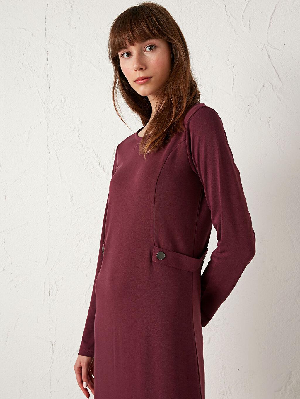 Kadın Uzun Kollu Ponte Elbise