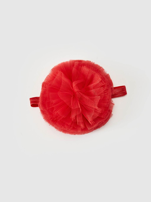 Kırmızı Kız Bebek Saç Bandı 0WHA57Z1 LC Waikiki