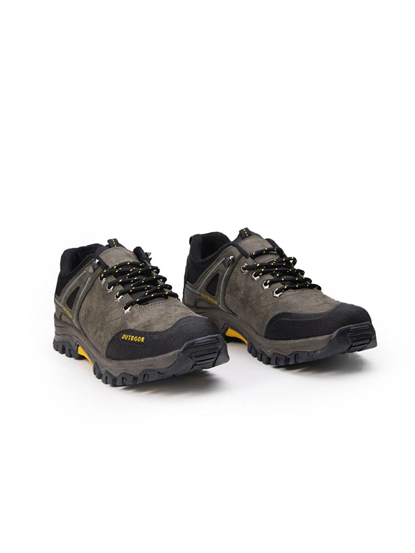 Trekking Bağcık Yuvarlak Burun Letoon Erkek Bağcıklı Trekking Ayakkabı