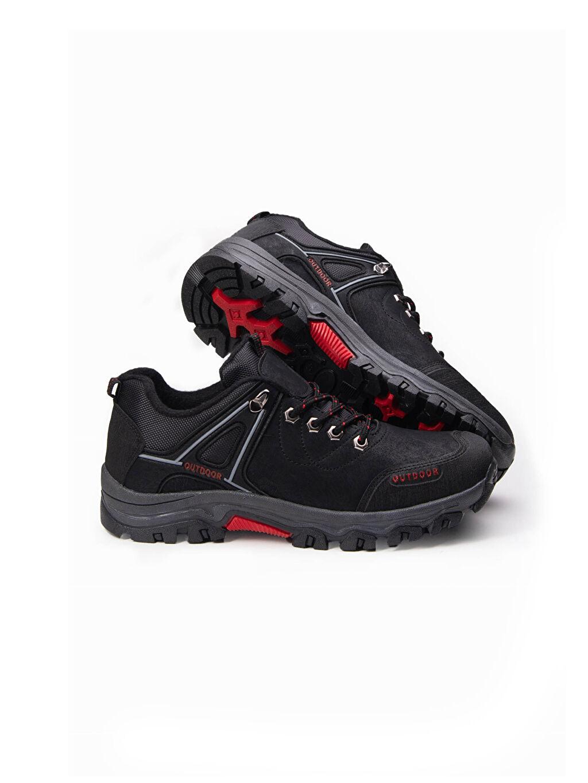 Siyah Letoon Erkek Bağcıklı Trekking Ayakkabı 0WHB84Z8 LC Waikiki