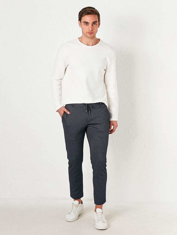 Lacivert Slim Fit Jogger Pantolon 0WHE10Z8 LC Waikiki