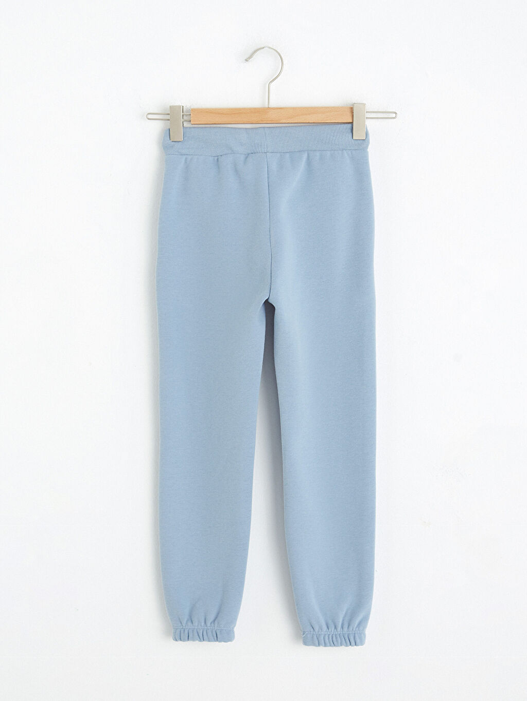 %68 Pamuk %32 Polyester Kalın Uzun Uzun Kol Eşofman Altı Sweatshirt Kumaşı Kız Çocuk Jogger Eşofman Altı