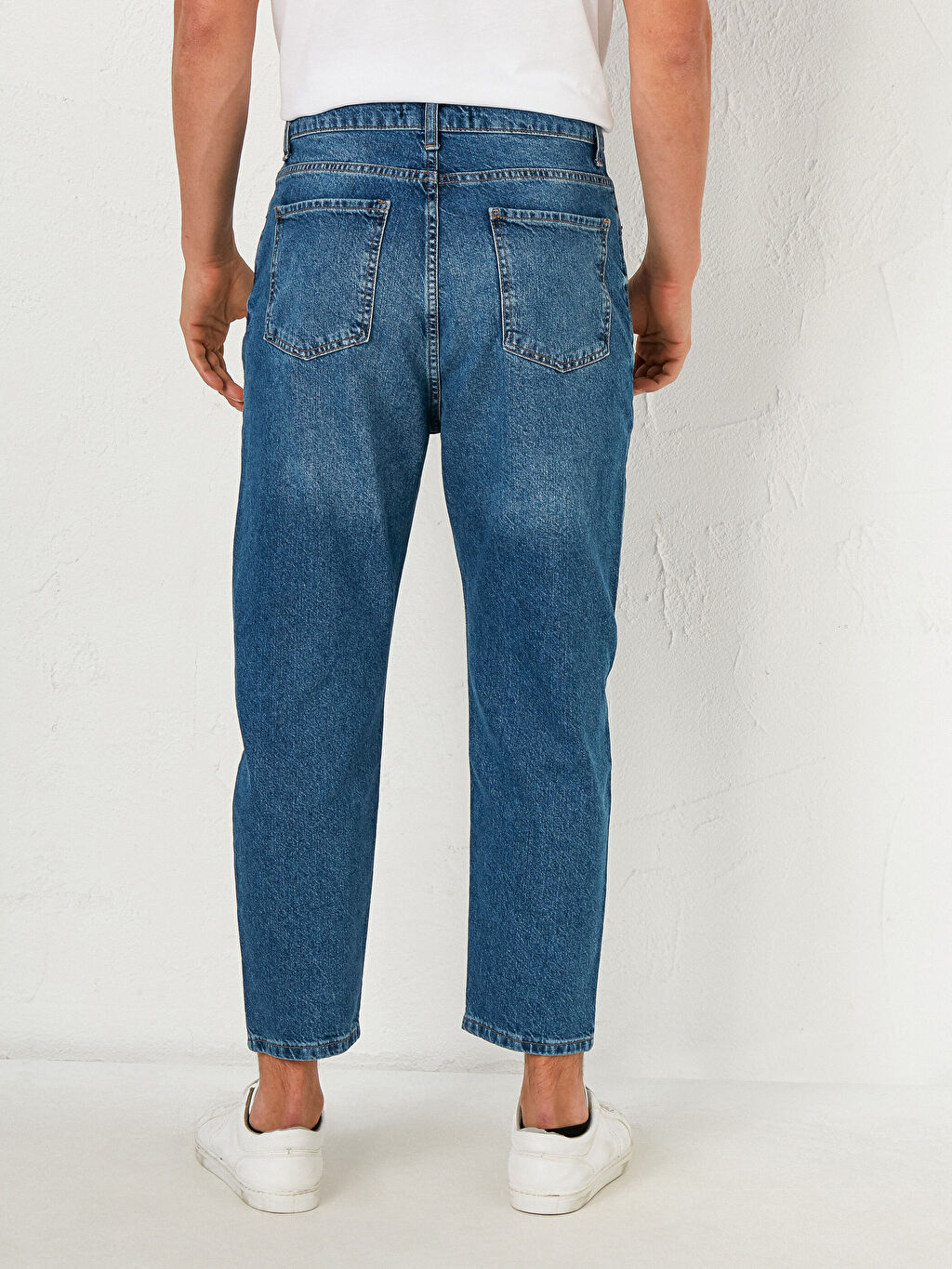 %100 Pamuk 710 Loose Fit Jean Pantolon