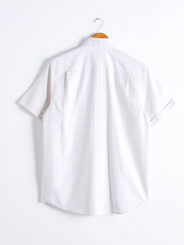 S11401Z8 Regular Fit Kısa Kollu Poplin Gömlek