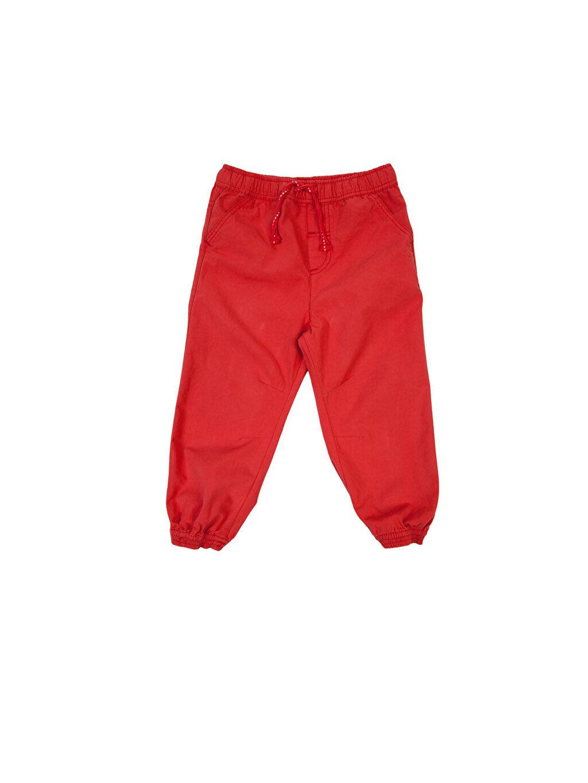 Kırmızı Kırmızı Normal Pantolon 3YB196Z1 LC Waikiki