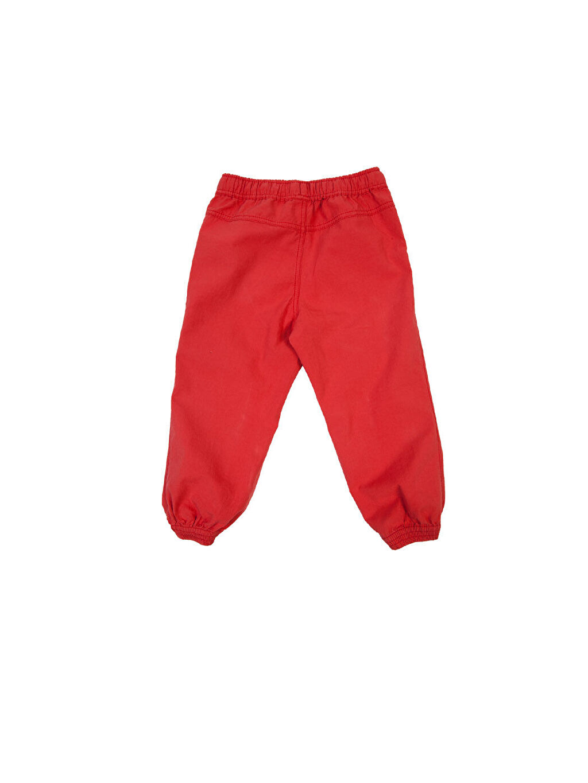 Kırmızı Normal Pantolon