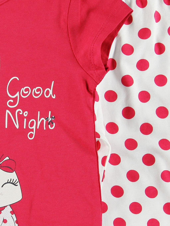 Kız Çocuk Kırmızı Pijama takım