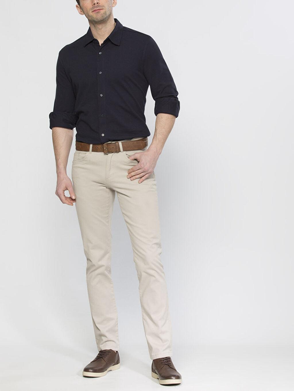 Erkek Dar Kalıp Chino Pantolon