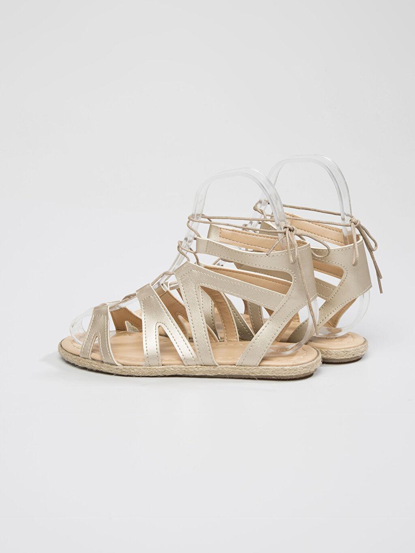Kadın Sarı Sandalet