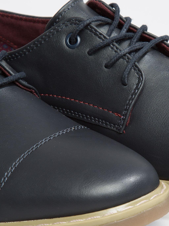 Lacivert Bağcıklı Ayakkabı
