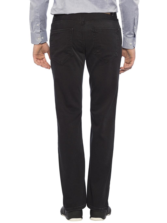 %64 Pamuk %23 Poliester %12 Vıscose %1 Elastane Jean Standart Siyah Normal Jean