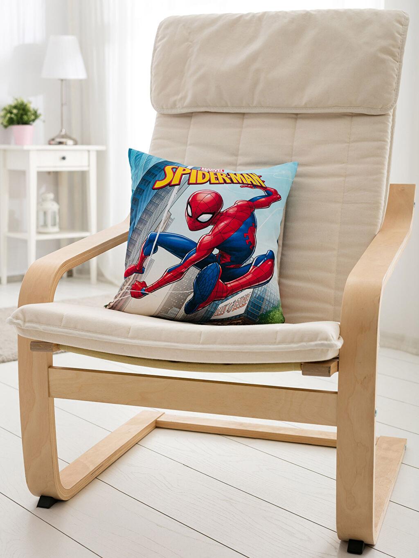 Çok Renkli Spiderman Kırlent 8WK694Z4 LC Waikiki